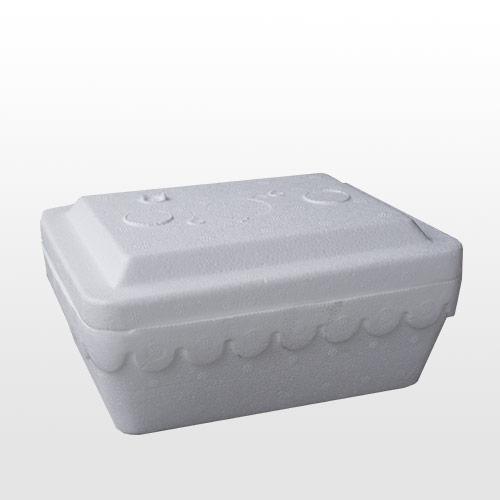Caja de expandido para vianda